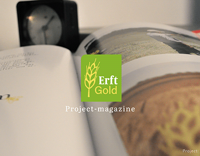 Project-magazine about the ErftGold project