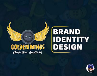 Golden Wings Brand Identity Design