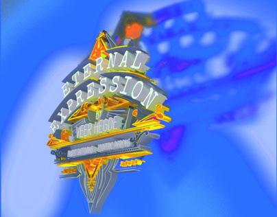 Eternal Expression Tattoo & Piercing Studio - 3D Emblem