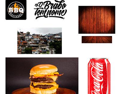 Social Midia BBQ Delivery o Brabo tem nome!