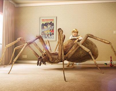 ATOMIC SPIDER - CGI