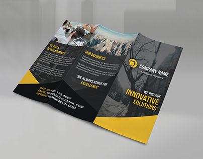 Tri Fold Modern Brochure TEMPLATE