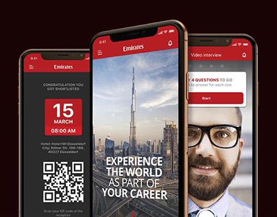 Cabin Crew Recruitment App