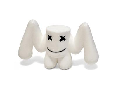 Marshmello - Resin Toy
