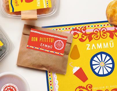 Zammù - Delizie di Sicilia | Brand identity