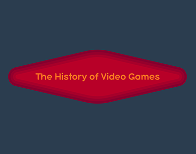 Infographic Animation - The History of Video Games (tr)