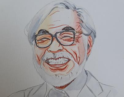 Watercolor on Paper - Portrait