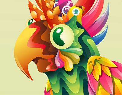 POP : Paradise Of Parrots