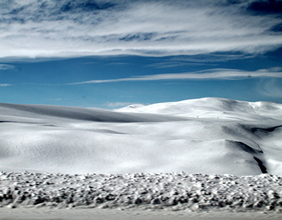White Curtain (Winter Photography)