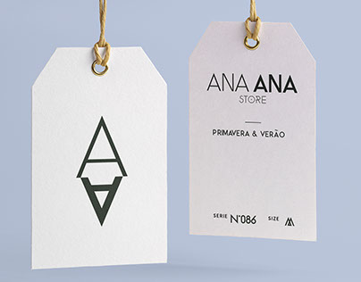 Identidade Visual - Ana Ana Store