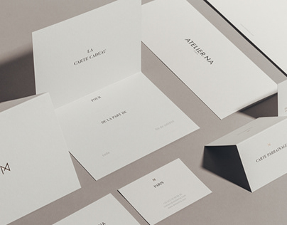 Atelier NA - Rebranding