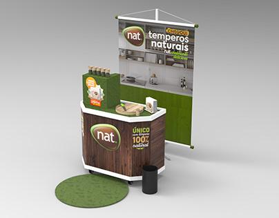 Campanha de lançamento - Nat Temperos Naturais