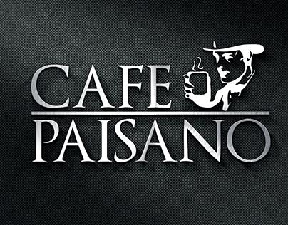 Simplificación de Logo para Cafe Paisano