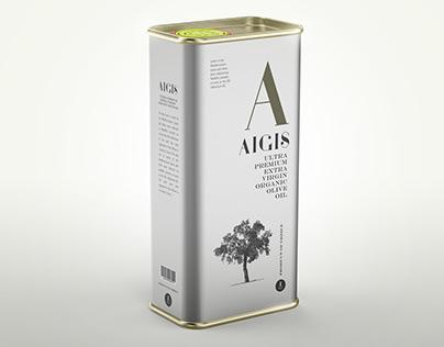 Aigis Ultra Premium Virgin Organic Olive Oil