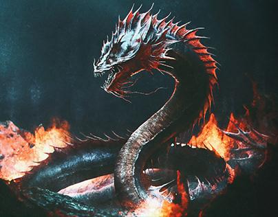 Fire Demon Eel