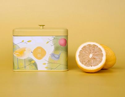 Cube Cake & Tea Boxes