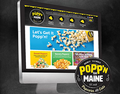 Popp'n on Maine Website
