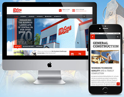 McCoy Brothers, Inc. Website