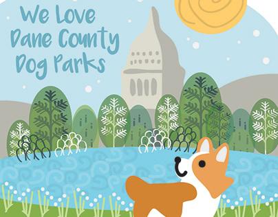 Dog Park Sticker Design Submission 2020
