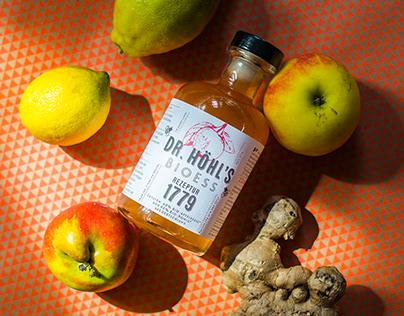 DR. HÖHL'S BioEss Apfelessig – organic apple vinegar