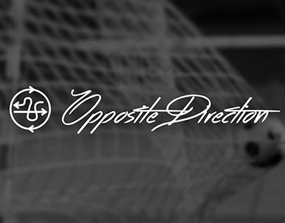 Opposite Direction Logo Design