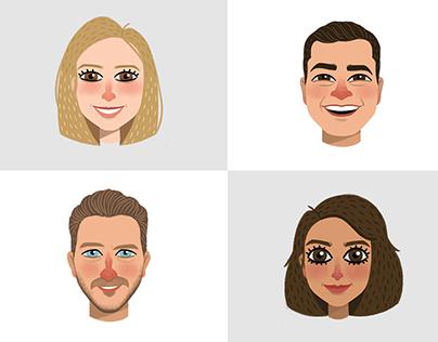 Merck - Office Portraits