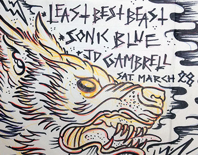 Least Best Beast poster 2015-0328