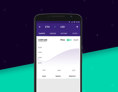 Moonstone Wallet - Free Mobile UI Kit