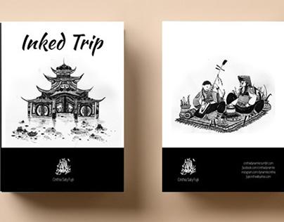 Artbook - Inked Trip by Cinthia Saty Fujii