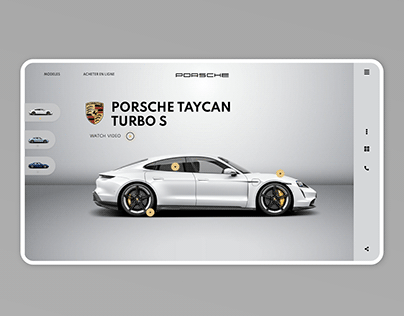 Porsche Taycan design concept