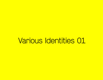 Various Identities 01