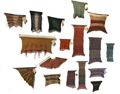 Single Bed Knitting Samples