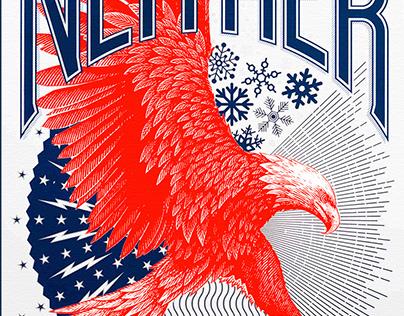 USPS Rebrand Illustrated by Steven Noble