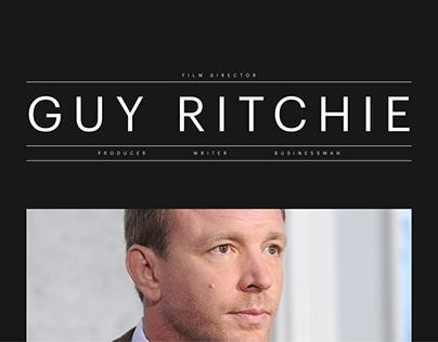 Guy Ritchie promo site