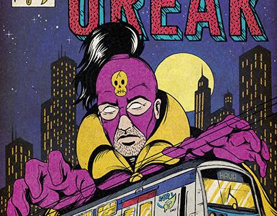 Graffiti comic book cover