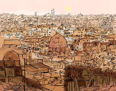 """""""Escape from Raqqa"""". BBC Arabic."""