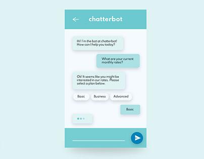 Chatbot UI Animation