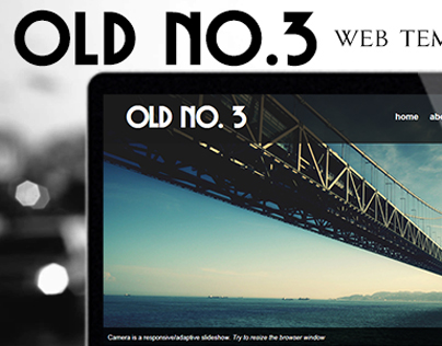 Old No. 3 - Bootstrap Template
