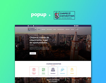 Website - Chapecó Convention