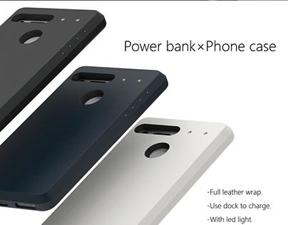 Essential-Power bank × Phone case