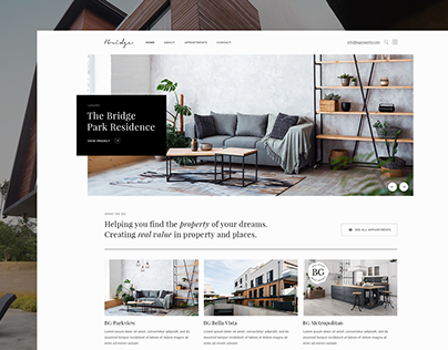 Property Showcase - Bridge Theme