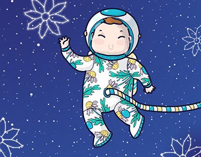 Daisy the astronaut