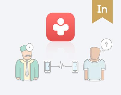 Medical app design: Medirect