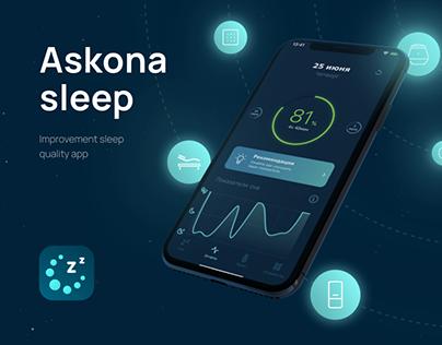Askona sleep smart bedroom app
