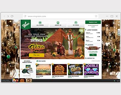 WEB BANNER: Mr Green Casino