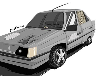 Ilustración: Renault 9