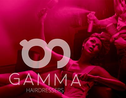 Gamma Hairdressers - Brand Design