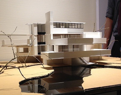 Physical Model: Fallingwater House