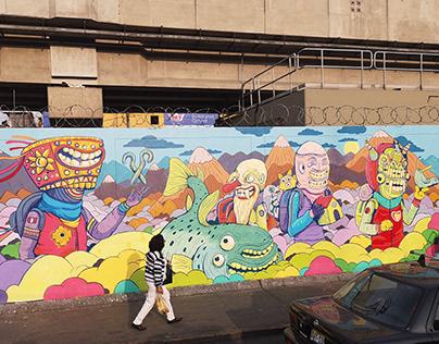Graffiti Gamarra Lima Perú