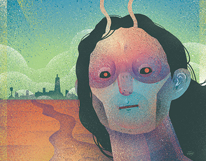 「明日的智人」插畫, 設計 | Homo Sapiens of Tomorrow